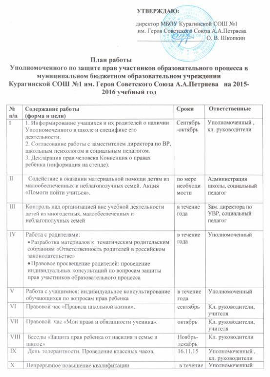 Должностная инструкция Заместителя Директора по Социальной Работе - картинка 2